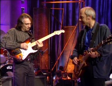 Joli slide sur guitare électrique Knopfler-london4