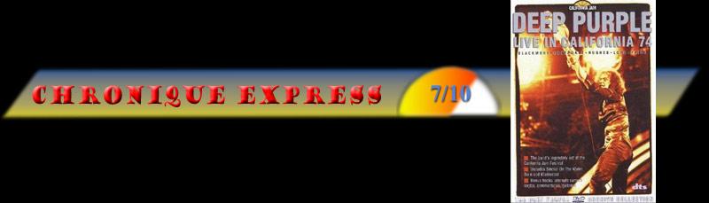 DVD Metal regardé récemment - Page 22 Express-purple-california